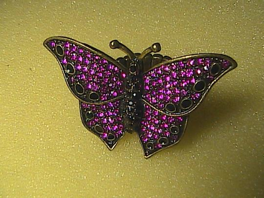 Other Butterfly Rhinestone Elastic Ring