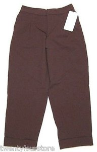 Lululemon Lululemon Wide Legged Wonder Pant Cropped Trouser In Bordeaux Drama