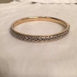 LC Lauren Conrad Bangle Gold & Silver Tone Bracelet Lauren Conrad Design
