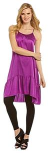 Bryn Walker short dress Purple on Tradesy