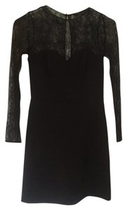 Zara Lace Black Lace Dress
