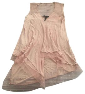 BCBGMAXAZRIA Top Light pink