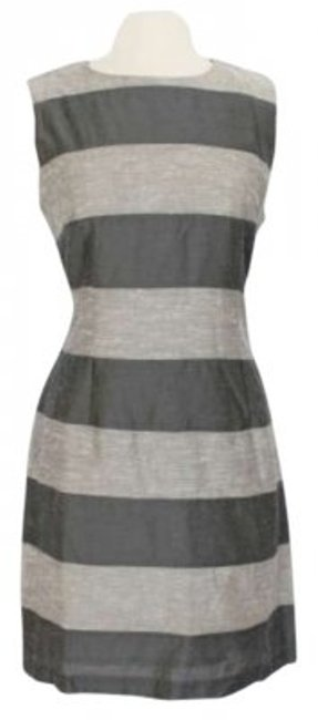 Preload https://item1.tradesy.com/images/french-connection-gray-stripes-knee-length-workoffice-dress-size-12-l-164325-0-0.jpg?width=400&height=650