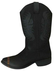 Rampage Cowgirl Cowgirl Vegan black Boots