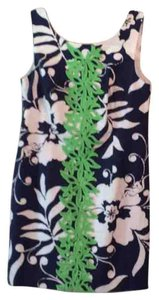 Lilly Pulitzer short dress Blue, white, and green on Tradesy