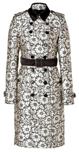 Burberry Trench Lace Jacquard Trench Floral Trench Coat