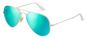 Ray-Ban Brand New Ray-Ban RB3025 112/19 Gold/Green Flash Lens Sunglasses