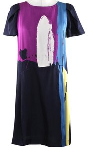 Chloé short dress Multi-Color on Tradesy