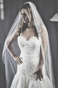 Cathedral Length Veil Color White