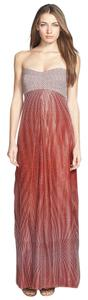 Diane von Furstenberg Dvf Night Out Maxi Shimmer Dress