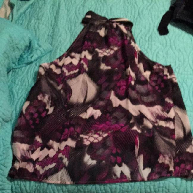 Guess Top Purple, Black, White