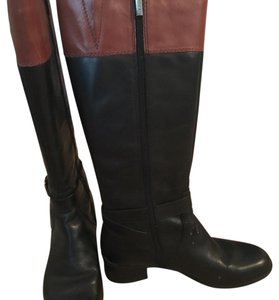 Bandolino Black and Tan Boots