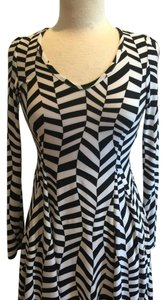 Cecico short dress Black/White on Tradesy
