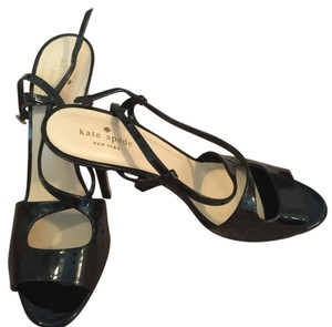 Kate Spade Black Patent Leather Formal