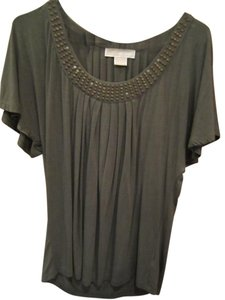 Michael Kors M Gold T Shirt Green