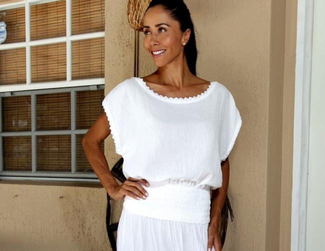 Lirome Bohemian Summer Crochet Top White
