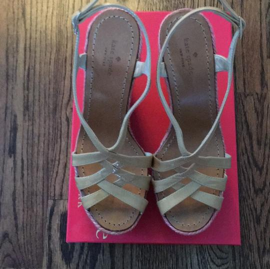 Kate Spade Biscuit/ multi-colored Wedges Image 2