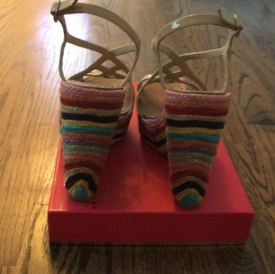 Kate Spade Biscuit/ multi-colored Wedges Image 3
