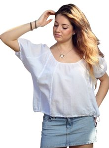 Lirome Bohemian Top White