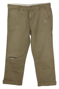 AG Adriano Goldschmied Goldschmeid Straight Pants Tan