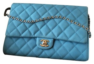 Chanel Blue Clutch