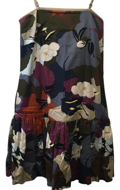 Item - Floral 2221057806 Above Knee Short Casual Dress Size 8 (M)