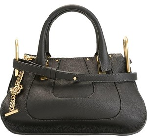 Chloé Hayley Hayley Satchel in Black Chloe
