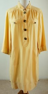 Chico's short dress Yellow Chicos Shirt Rayon on Tradesy