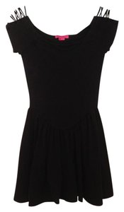Betsey Johnson Open Shoulder Dress