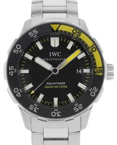 IWC IWC Schaffhausen Aquatimer IW356801 Steel Automatic Men's Watch (7253)