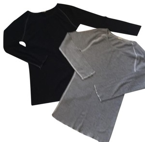 J.Crew T Shirt Black and grey