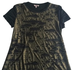 Juicy Couture T Shirt black / gold