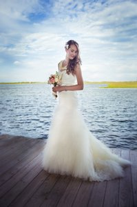 Galina Swg523 Wedding Dress