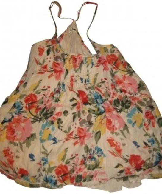 Anthropologie 0 Xs Casual Top Floral
