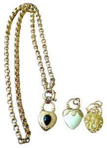 Joan Rivers Joan Rivers 3 heart charm necklace