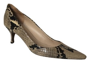 Reiss Snakeskin Pumps