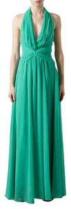 Green Maxi Dress by MSGM