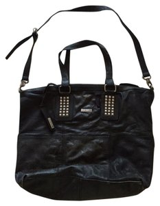 JOE'S Jeans Studded Leather Rare Tote in Black
