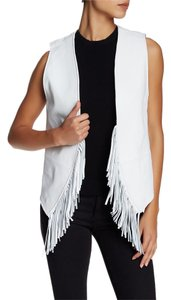 Rebecca Minkoff Edgy Rocker Chic Leather Vest