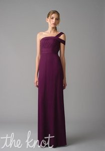 Monique Lhuillier Aubergine Style 450019 Dress