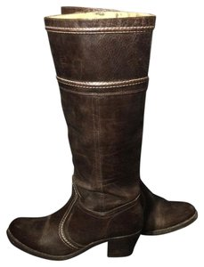 Frye 77231 Jane Motorcycle Size 10 Brown Boots