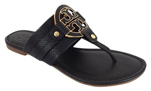 Tory Burch Amanda Black Sandals