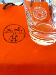 Hermes Clous De Selle Glass