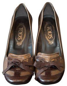 Tod's Tods Leather Brow Pumps