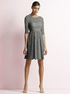 Jenny Yoo Charcoal Gray Jy510 Dress