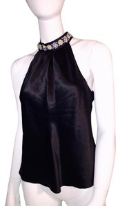 Oleg Cassini Top black