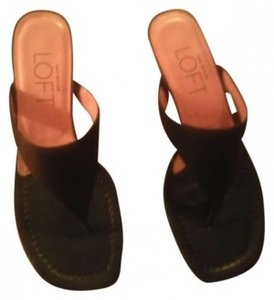Ann Taylor LOFT chocolate brown Sandals