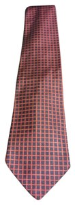 Brooks Brothers Mens check print neck tie