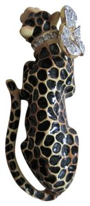 Kenneth Jay Lane Kenneth Jay Lane Leopard Brooch