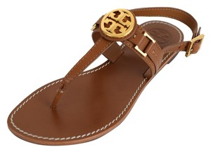 Tory Burch Miller Thong Royal Tan Sandals